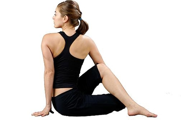 Seated Spinal Twist Pose (Ardha Matsyendrasana)