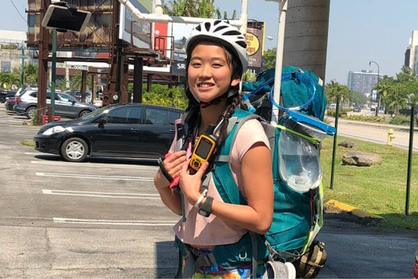 Who is Yanise Ho? 23 year Old Woman Who Traveled Across U.S.A in Rollerblades & A Backpack
