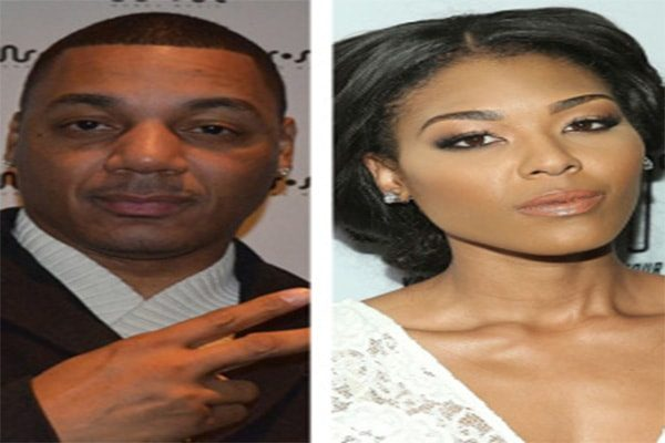 Rich Dollaz with his ex-fiance Moniece Slaughter