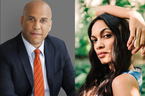 Senator Cory Booker Dating Actress Rosario Dawson Since December