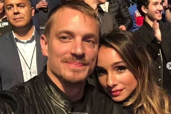 Joel Kinnaman with his ex wife,Cleo-Wattenström
