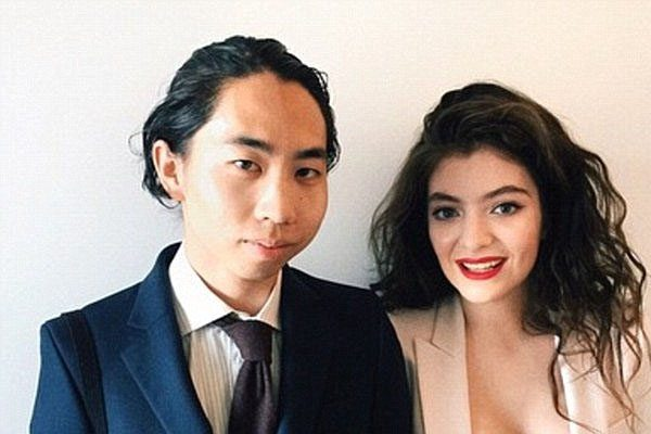 Lorde with her ex boyfriend, James Lowe