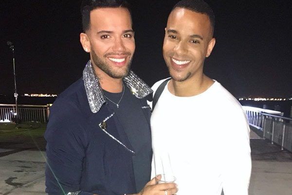 Trent Crews and Jonathan Fernandez Relationship. Openly gay Couple in Bad Blood now