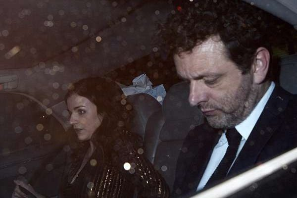 Aisling Bea with ex-boyfriend Michael Sheen.