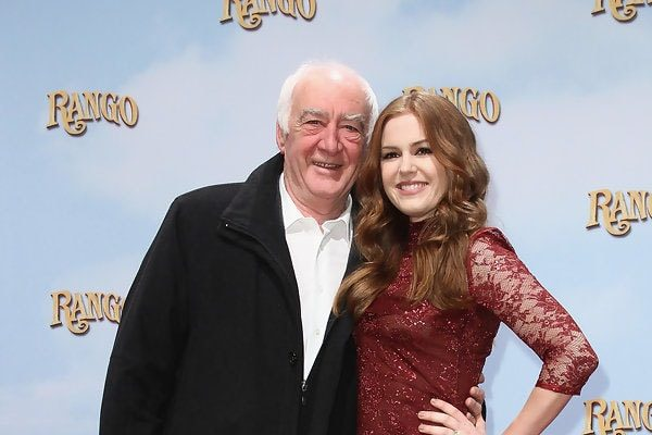 Isla Fisher and her father Briane Fisher