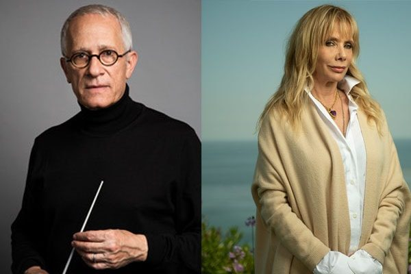 Rosanna Arquetta and James Newton Howard were married
