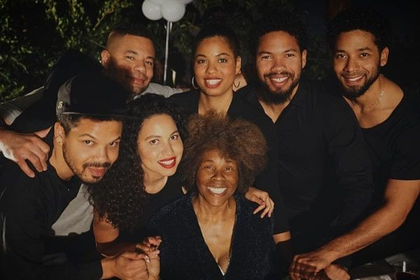 Jake Smollett family