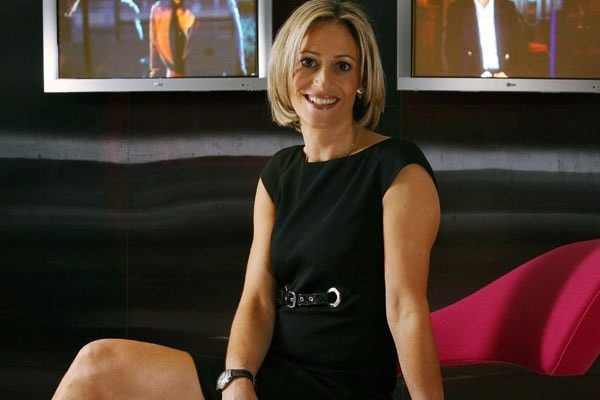 Emily Maitlis was born in Canada