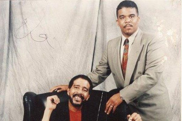 Richard Pryor Jr and his father, Richard Pryor