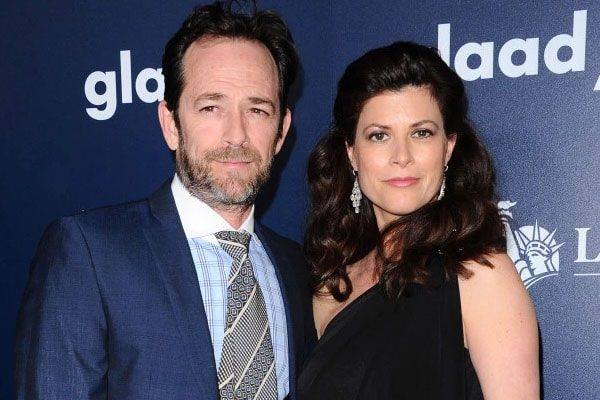 Luke Perry's Fiance, Wendy Madison Bauer.