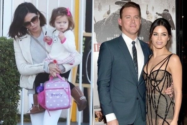 channing tatum and her ex wife and daughter