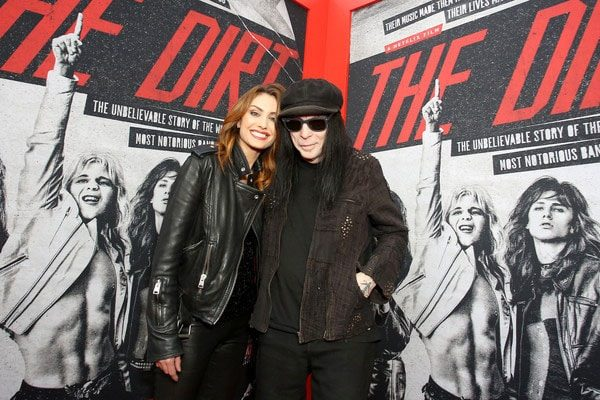 Mick Mars' girlfriend