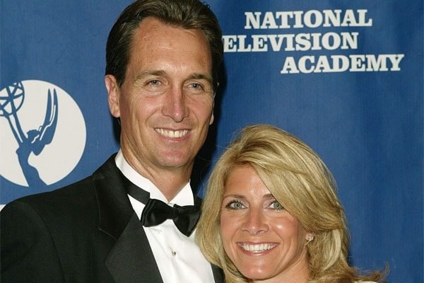 Chris Collinsworth and his wife holly bankemper