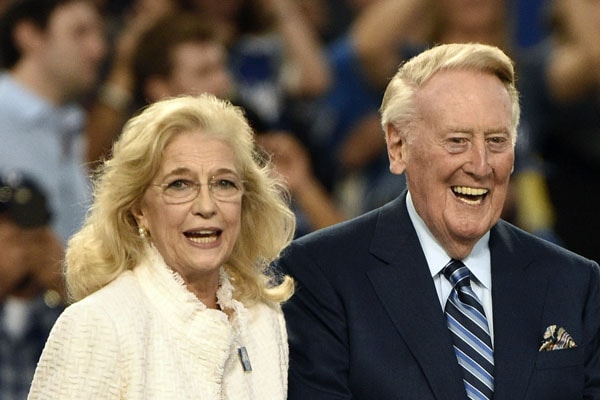 Know Everything About Vin Scully's Wife Sandra Hunt