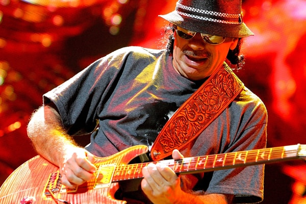 Did You Know Carlos Santana Is A Grandpa And Has A Grandson Named Steven River Santana?