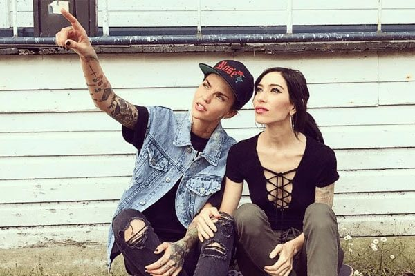 Jess Origliasso's former girlfriend