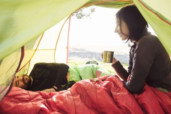 Tips on staying warm in tent