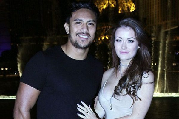 Photo including Jess and her her-husband Danny Solomona