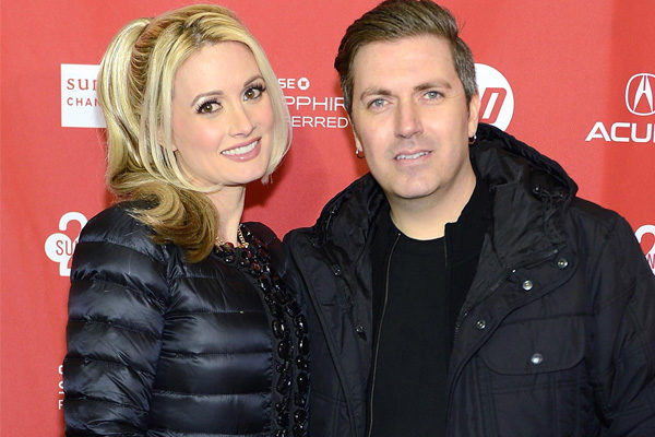 Holly Madison with Pasquale Rotella