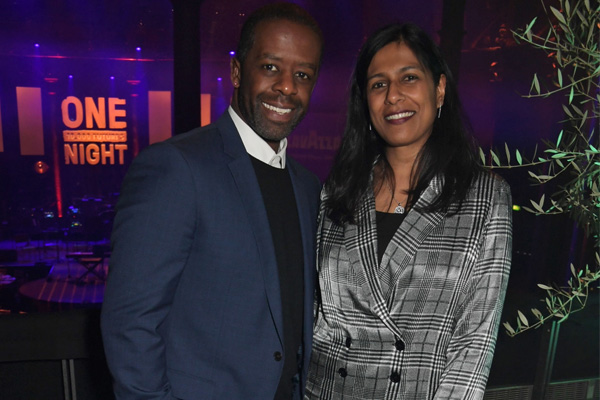Adrian Lester's Wife Lolita Chakrabarti, Married Since 1997