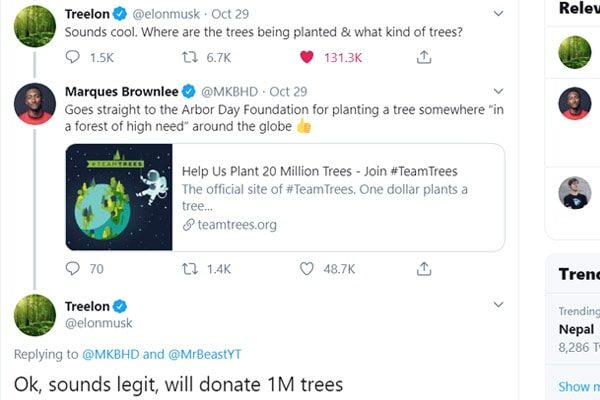 Elon Musk Reply to Marques Brownlee.