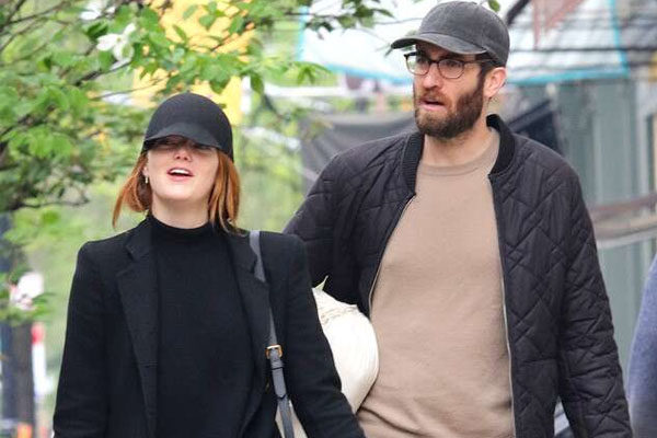 Emma Stone and Dave McCary's relationship