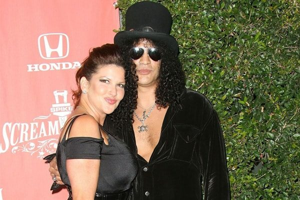 Slash's divorce with Perla Ferrar