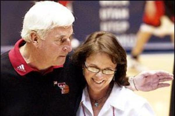 Bob Knight wife Karen Vieth Edgar