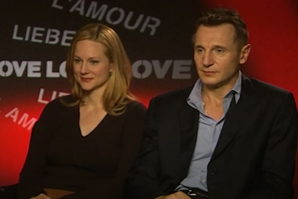 Friendly Relationship Between Laura Linney And Liam Neeson