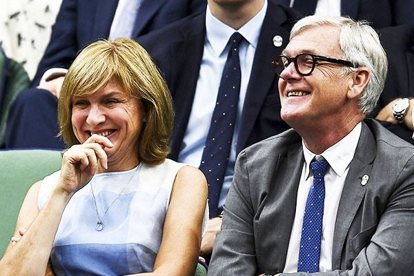 Fiona Bruce, 54, Successful Marriage With Husband Nigel Sharrocks Since 1994 With Two Children