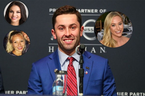 American Football Quarterback Baker Mayfield's list of Girlfriends and Affairs