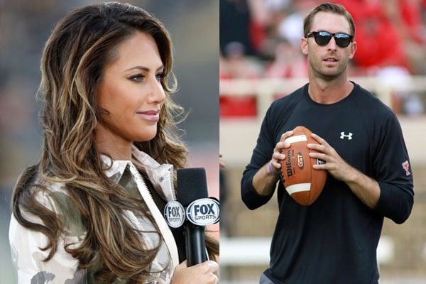 Single Holly Sonders After Divorce is ready to Mingle. Dating Boyfriend Kliff Kingsbury.