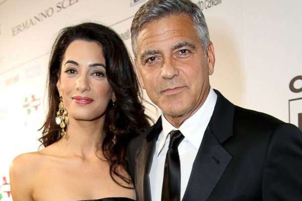 George Clooney and Amal Clooney Wedding Photos